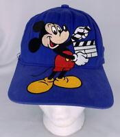 Vintage Walt Disney Studios Mickey Mouse Director Snapback Baseball Hat Cap USA