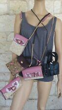 COACH Flap Crossbody/Belt Bag with Belt set(s) Butterfly Applique Phone, Wallet