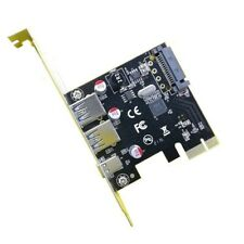 Usb 3.1 Type C Pcie Expansion Card Pci-E To 1 Type C And 2 Type A 3.0 Usb A R2C1