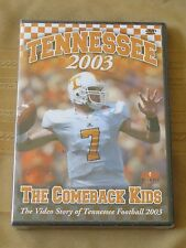 Tennessee Volunteers 2003 The Comeback Kids DVD New