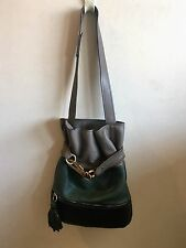 WOMANS CHLOE HANDBAG/ DUST BAG / TRI-COLOR / BRASS HARDWARE