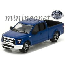 GREENLIGHT 27920 E 100 YEARS ANNIVERSARY 2016 FORD F-150 PICK UP TRUCK 1/64 BLUE