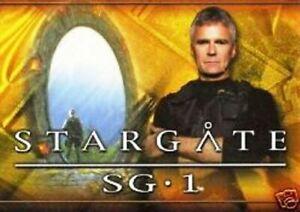 RITTENHOUSE - STARGATE SG-1 SEASON 6 COMPLETE BASE CARD SET OF 72 CARDS