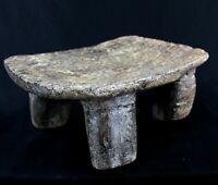 Art African - Stool Logboat Senoufo Antique & Unusual - Senufo Stool - 31 CMS