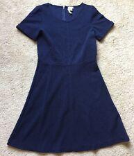 J. CREW Women's Navy Blue Formal/Career Short Sleeve Dress ~EUC~ Size 8