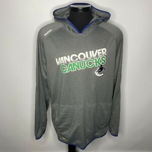 NEW NHL Reebok Vancouver Canucks Sweatshirt Hoodie Mens 2XL