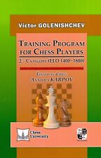 Training Program for Chess Players: 2nd Category (elo 1400-1800) NEW BOOK