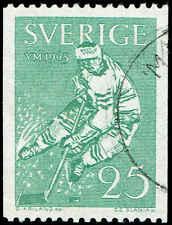Scott # 620 - 1963 - ' Ice Hockey '