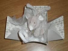 peluche souris mause mouse bouée lien attache Doudou Et CompagnieGrise Dc1282