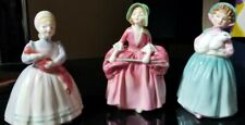 Royal doulton figurines 3 Pc Lot! Number 38 Bo Peep