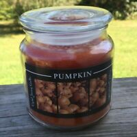 Pumpkin spice Candle Crystal Journey Candles Natural Vegetable Wax Jar Candle