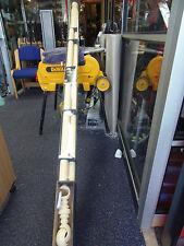 50mm x3metre Wooden Cream Curtain Poles