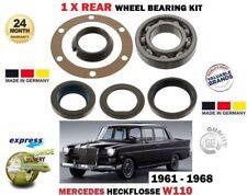 FOR MERCEDES HECKFLOSSE W110 1959-1965 NEW 1 X REAR WHEEL BEARING KIT COMPLETE