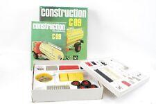 schöner alter Baukasten Construction C09 Kinder Spielzeug Auto LKW