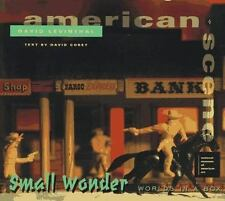 Small Wonder: Worlds in a Box by David Levinthal --Hardcover book, 1994 NEW