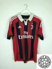 AC MILAN 12/13 Calcio Casa Maglietta (L) SOCCER JERSEY Adidas