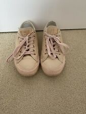 Rose Gold Converse Size 6