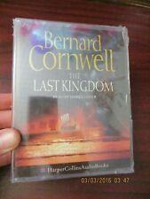 Bernard Cornwell The Last Kingdom    Audio Book Cassette Tape (NEW)