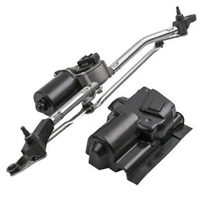 Wiper Linkage + Front Wiper Motor for Opel Astra G Vauxhall Astra 1998 - 2005
