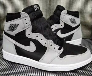 🔥Jordan 1 Retro High (Size 9.5) 555088-035 'Shadow 2.0' Black/Grey *IN HAND*🔥