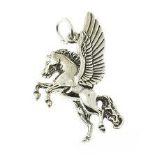 925 Sterling Silver Pegasus Charm Made in USA