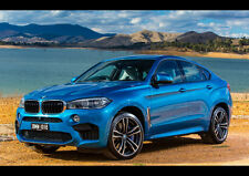BMW X6 M NEW A4 POSTER GLOSS PRINT LAMINATED