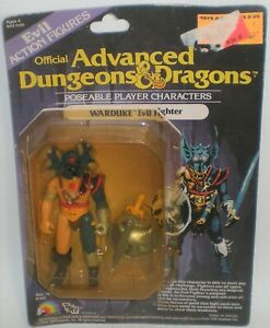 Advanced Dungeons & Dragons WARDUKE Action Figure Opened but New TSR LJN D&D '83