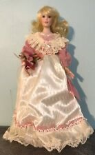 "Paradise Galleries 1999 MAID OF HONOR 14"" Porcelain Doll by Patricia Rose"