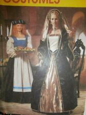 McCall's Sewing Pattern 2242 P439 Woman's Costumes Renaissance Gown 4 6 8
