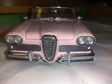New ListingFranklin Mint Precision Model 1958 Edsel Citation Pink 1/24 Scale Die-Cast Used!