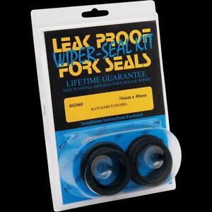 Leak Proof Seals 42391 Pro-Moly Fork Seals/Wiper Seals
