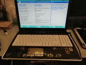 HP pavillon dv6-1205sf 4GO RAM (DDR2)démarre au bios vendu en l'état pour pièces