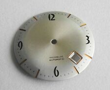 Watchmaker Watchmaking Dial Watch Curved Grey Diameter 1 5/32in Heavywieght