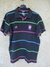Polo Stade Français Paris Rugby SF ADIDAS coton shirt manches courtes XL