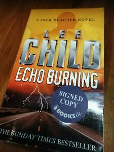 Past Tense 2018-1st Jack Reacher #23 Exclusive Ed SIGNED//NEW LEE CHILD