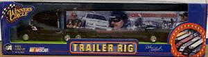 WINNER'S CIRCLE Dale Earnhardt Forever the Man Trailer Rig 1:64 2002 NASCAR