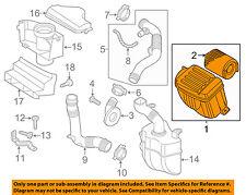 VW VOLKSWAGEN OEM 11-15 Jetta Air Cleaner Intake-Filter Box Housing 5C0129607