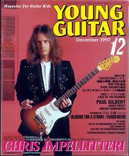 Young Guitar Dec/97 Impellitteri Whitesnake Ozzy Randy Rhoads Harem Scarem