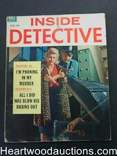 """""""Inside Detective"""" August 1962"""