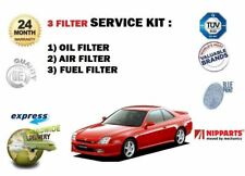 Für Honda Prelude 2.0 Coupe Sport 1997-2000 Neu Öl- Luft- Kraftstofffilter