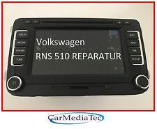 VW  RNS510 RNS 510 Navigation Navi Reparatur Golf Passat Tiguan Touran defekt