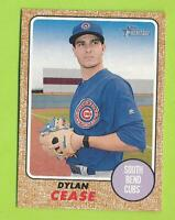 2017 Topps Heritage Minors - Dylan Cease (#211)  South Bend Cubs  White Sox
