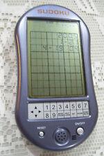 Electronic Sudoku Handheld Travel Game Used