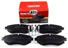 MINTEX FRONT AXLE BRAKE PADS FOR IVECO DAILY MDB2907 (REAL IMAGE OF PART)