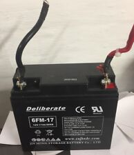 Battery 12V 17AH /20hr Rechargeable Battery