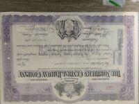 Pennsylvania Rochester /& Pittsburgh Coal Company Stock Certificate Indiana