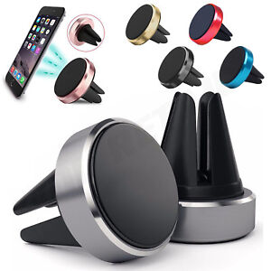 New Magnetic Car Phone Holder Air Vent Phone Mount 360 For iPHONE 6 7 8 9 X Plus
