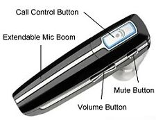 Plantronics Voyager 855 Premium Wireless Bluetooth Hands Free Headset/Headphone