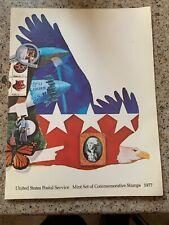 United States Postal Service Mint Set of Commemorative Stamps 1977