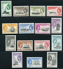 FALKLAND ISLANDS 1954 SG 26-40 SC 1L19-33 MLH * COMPLETE SET 15 STAMP £ 225/$360